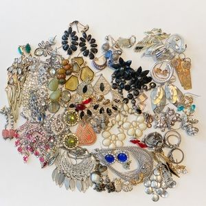 Modern Earring and Ring Lot